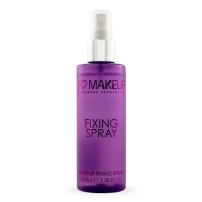 Спрей для фиксации макияжа Fixing Spray I Heart Makeup MakeUp Revolution: фото