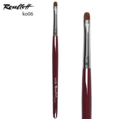 Кисть для растушевки теней, карандашей Roubloff ko06: фото