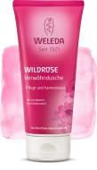 Розовый нежный гель для душа WELEDA 200 мл: фото