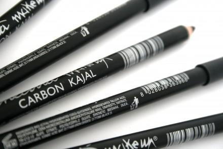 Черный карандаш для глаз Cinecitta Carbon kajal eye pencil: фото