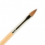 Кисть для ногтей ВАЛЕРИ-Д лак из волоса колонка №6 лепесток: фото