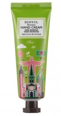 Крем для рук с экстрактом зеленого чая Рио EUNYUL Green tea hand cream 50 г: фото