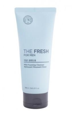 Пенка для умывания для мужчин THE FACE SHOP The Fresh For Men Mild Foaming Cleanser: фото