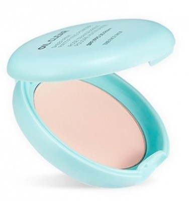 Пудра компактная матирующая THE FACE SHOP Oil Clear Sheer Pink Mattifying Powder SPF30: фото