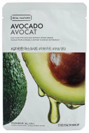 Маска с экстрактом авокадо THE FACE SHOP Real nature mask sheet avocado 20мл: фото