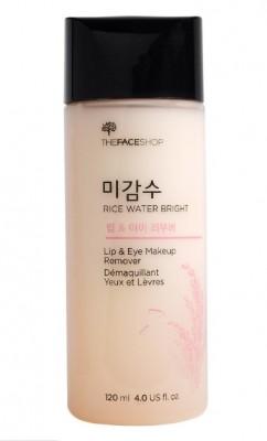 Средство для снятия макияжа THE FACE SHOP Rice Water Bright Lip&Eye Remover: фото