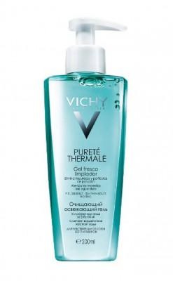 Очищающий освежающий гель VICHY Purete Thermal 200 мл: фото
