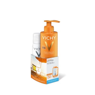 Молочко Анти-песок VICHY SPF30 200мл+Термальная вода 50 мл в подарок: фото