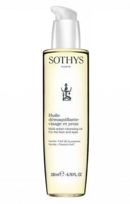 Масло для лица очищающее мультифункциональное SOTHYS Multi-Action Cleansing Oil 200мл: фото