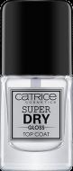 Верхнее покрытие для ногтей CATRICESuper Dry Gloss Top Coat прозрачный: фото