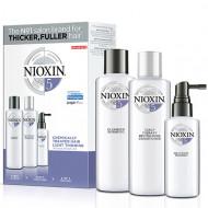 Набор 3х-ступенчатая система XXL-формат Nioxin System5 300+300+100 мл: фото