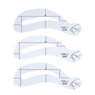 Трафарет для бровей The Saem Eyebrow Guide: фото