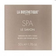 Мыло-Spa нежное для лица и тела La Biosthetique Le Savon SPA 50г: фото