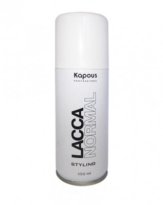 Лак аэрозольный для волос нормальной фиксации Kapous Styling 100мл: фото