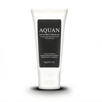 Гель-скатка для лица Anskin Aquan Soft & Perfect Peeling Gel 70гр: фото