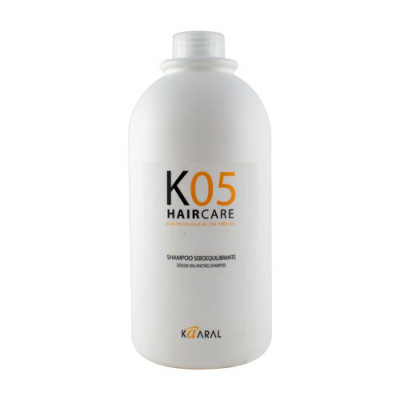 Шампунь для восстановления баланса секреции сальных желез Kaaral К05 Sebum Balancing Intense Treatment 1000мл: фото