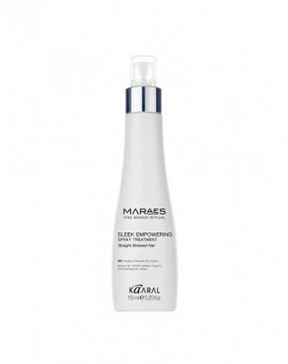 Спрей восстанавливающий несмываемый для прямых поврежденных волос Kaaral MARAES Sleek Empowering Spray Treatment 150 мл: фото
