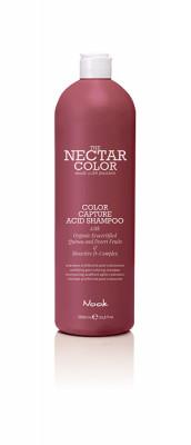 Шампунь фиксирующий после окрашивания NOOK Color Capture Acid Shampoo 1000мл: фото