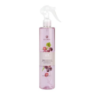 Вода косметическая для удаления остатков сахарной пасты Алоэ и виноград Gloria Classic 350 мл: фото