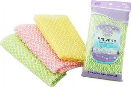 Мочалка для душа Sungbo Cleamy 28х90 Royal Shower Towel 1шт: фото