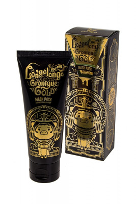 Маска-пленка золотая Elizavecca Hell Pore Longolongo Gronique Gold Mask Pack 100мл: фото