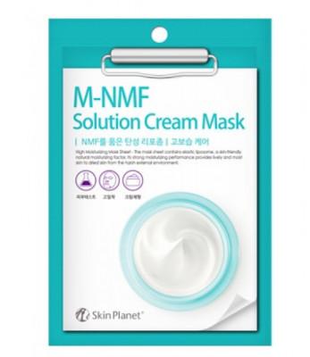 Маска для лица тканевая увлажняющая Mijin Skin Planet M-MNF solution CREAM MASK 30гр: фото