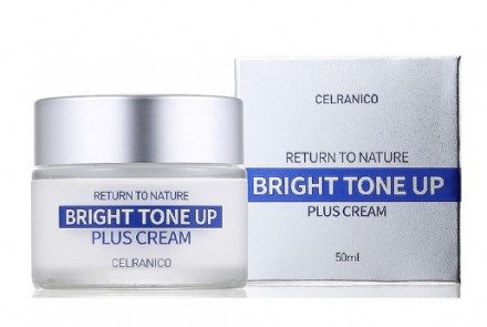 Крем улучшающий тон кожи CELRANICO RETURN TO NATURE BRIGHT TONE UP PLUS CREAM 50 мл: фото