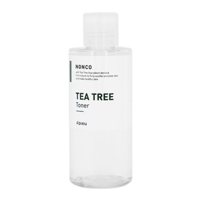 Тонер для чувствительной кожи A'PIEU NONCO TEA TREE TONER 210мл: фото