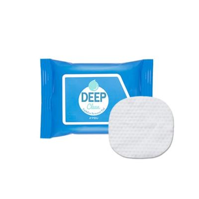 Салфетки для снятия макияжа с глаз и губ A'PIEU Deep Clean Lip&Eye Remover Pad 30шт: фото