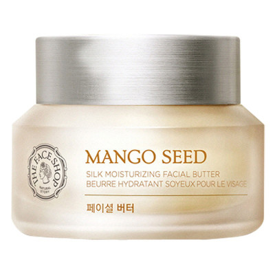 Крем увлажняющий с семенами манго THE FACE SHOP Mango Seed Silk Moisturizing Facial Butter 50ml: фото