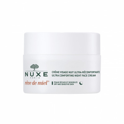 Ночной крем для лица, восстанавливающий комфорт Nuxe, Reve De Miel 50 мл: фото