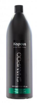 Шампунь для всех типов волос с ароматом ментола Kapous 1000мл: фото