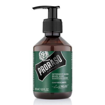 Шампунь для бороды освежающий PRORASO Refreshing 200 мл: фото