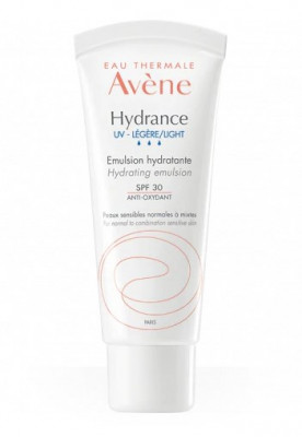 Эмульсия увлажняющий для нормальной и смешанной кожи Avene Hydrance Optimale UV20 Legere Emulsion hydration SPF30 40 мл: фото