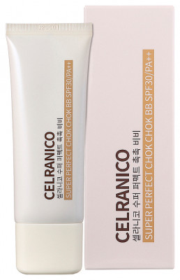 BB-крем для лица с муцином улитки CELRANICO Super Perfect Chok Chok SPF30/Pa++ 40мл: фото