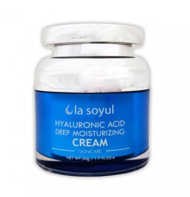 Крем интенсивно увлажняющий с гиалуроновой кислотой La Soyul Hyaluronic Acid Deep Moisturizing Cream 50 г: фото