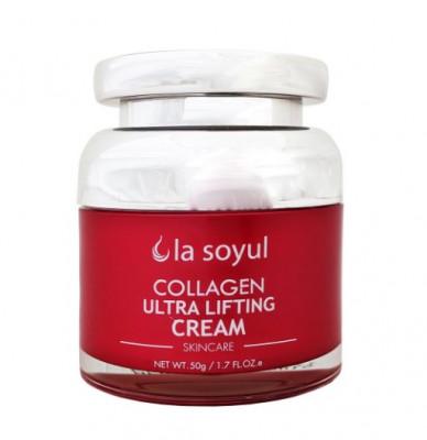 Крем-лифтинг для лица с коллагеном La Soyul Collagen Ultra Lifting Cream 50 г: фото