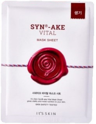 Тканевая маска с пептидом SYN®-AKE It'S SKIN Synake Vital Mask Sheet 23 г: фото