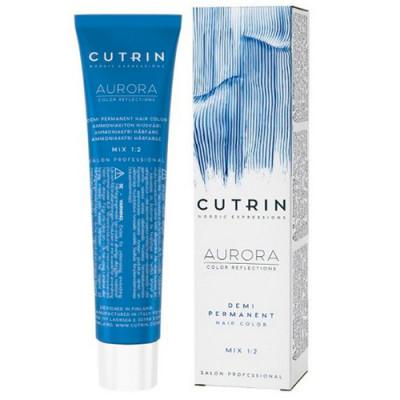Безаммиачный краситель CUTRIN AURORA 9.1 Очень светлый пепельный блондин 60 мл: фото