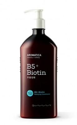 Кондиционер для волос питательный с биотином AROMATICA  B5+Biotin Fortifying Conditioner 400мл: фото